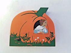 Cat's Meow Nursery Rhyme Series Peter Peter Pumpkin Eater Signed Faline '94 #CatsMeow #NurseryRhyme