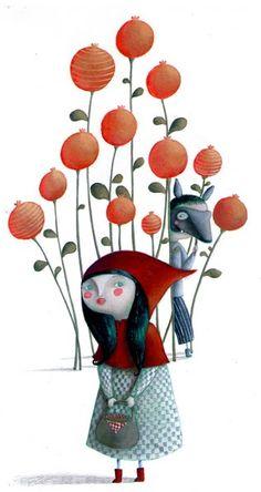 Martina Peluso: Cappuccetto rosso