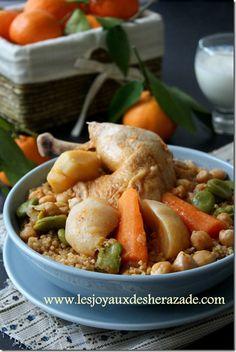 Couscous de boulghour au poulet