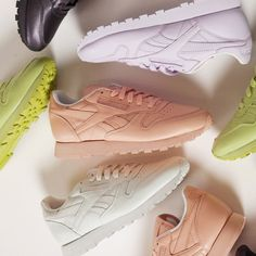 Meet the Women's Reebok Classics x Face Stockholm collection. What's your colour?