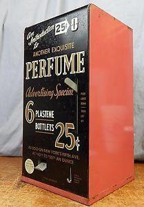 Vintage Perfume Vending Machine Great Western Sales   eBay