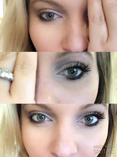 Maelle Above & Beyond Mascara | WOW! Look at those lashes on Alicia. Who wouldn't LOVE those results?