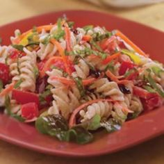 Ensalada de pasta jardinera | Recetas para adelgazar
