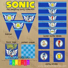 Sonic the Hedgehog Party Collection