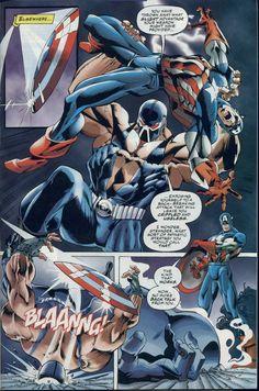 bane vs captain america - Battles - Comic Vine