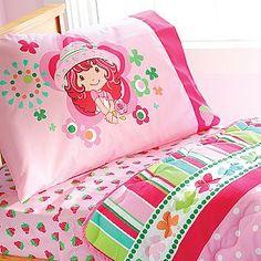"Strawberry Shortcake Comfort Set -- My first ""big girl"" bedroom set."