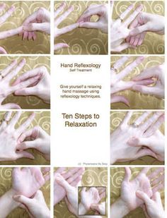 Ten Step Hand Reflexology Treatment