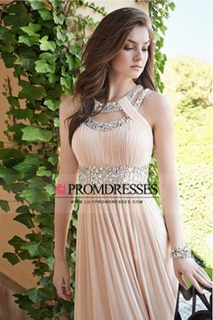 2015 Evening Dresses A Line Scoop Sleeveless Zipper Up Back With Rhinestone US$ 149.99 LilyPD2MBSAC - lilypromdresses.com