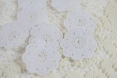 Mini White Paper Doilies - Set of 12....love these for cards and mini albums!