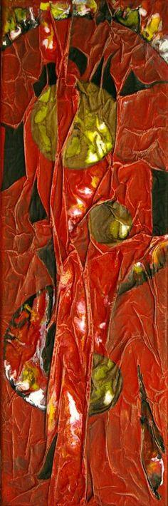 "Saatchi Art Artist Ysa Casse; Painting, ""Rouge 1"" #art"