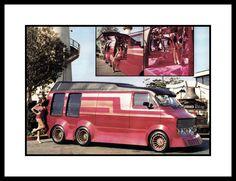 """""""Alien"""" Custom Van, 1982"""