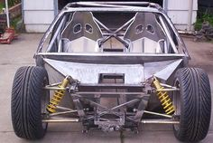 Has anyone attempted recreating the Fiero frame? Even in sections? Looking ahead: recreating it in aluminum or some other stonger and lighter material? I believe the Fiero frame only actually weighs just over 600 lbs. However with an aluminum version and key steel re-enforcements, it could probably go down to 375 lbs. Taking 225 lbs off the weight of the car would certainly improve braking and