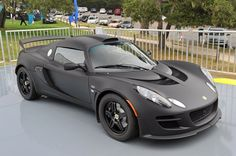 Lotus Exige Matte Black Final Edition The British sports car maker unveiled the stunning Evora GTE Road Car Concept, and earlier today pulled the wraps off the Exige Matte Black Final Edition, a special model reserved exclusively for the North American market.