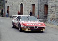 BMW M1 Tour de Corse 1982 Bernard Darniche #bmwclassiccars