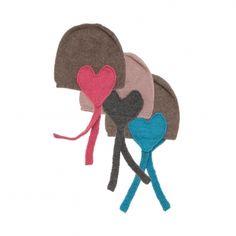Oeuf, NY, hats, girls, heart, woolen