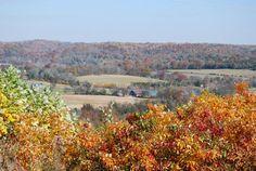 Beautiful!  Great picnic spot. Water Valley Overlook