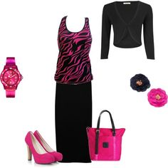 Pink and Black <3