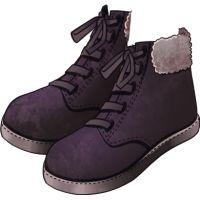 Sapatos Compras de Natal preto