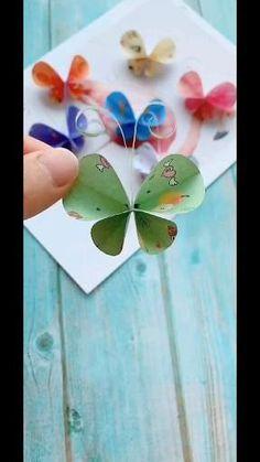Diy Crafts Hacks, Diy Crafts For Gifts, Paper Crafts For Kids, Diy Arts And Crafts, Fun Crafts, Paper Flowers Craft, Paper Crafts Origami, Flower Crafts, Halloween Crafts