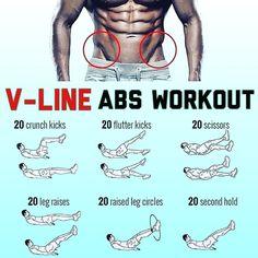 Back Day Workout, Home Workout Men, Workout Days, At Home Workouts, Core Workouts, V Line Abs, V Cut Abs, Gym Center, Leg Circles