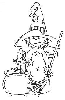 Halloween - Witch - Coloring Pages Halloween Drawings, Halloween Pictures, Halloween Cards, Holidays Halloween, Halloween Fun, Witch Coloring Pages, Halloween Coloring Pages, Adult Coloring Pages, Coloring Books