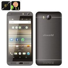 VKworld VK800X Android Smartphone (Grey)