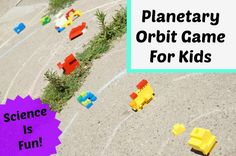 A fun way to teach kids about outer space with a simple planetary orbit game. Find out the games we created to illustrate the concept of planetary orbits.