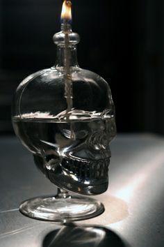 череп керосиновая лампа на heinie