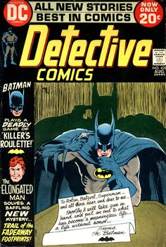 Diversions of the Groovy Kind: The Grooviest Covers of All Time: Ol' Groove's Fave Batman-centric Detective Comics Covers Batman Comic Books, Comic Books Art, Comic Art, Book Art, Batman Sets, I Am Batman, Superman, Batman Detective Comics, Batman Comics