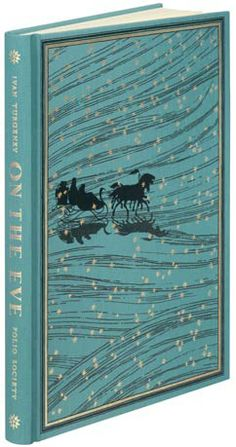 On the Eve:  On the Eve is one of Turgenev's finest novels, a poignant love story that is equally acclaimed as a portrait of Russian society in the 1850s. The innocence and idealism of the younger characters contrast with the world-weary older generation.