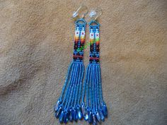 Prayer Feather earrings by DebsVisions on Etsy, $28.00