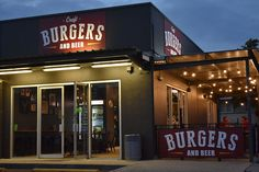 With glimpses of Moreton Bay from the verandah, Craft Burgers and Beer is a great spot to wind down with a drink after a long day Things To Do In Brisbane, Craft Burger, Beer Burger, Burgers, Stuff To Do, Restaurant, Drinks, Crafts, Hamburgers