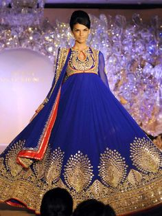 Simply exquisite: Abu Jani-Sandeep Khosla's bridal creations. These are the designers to whom Judi Dench turns to for evening wear.