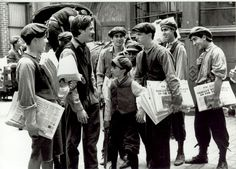 Newsies...one of my favorites!  Need to find this for my kids...