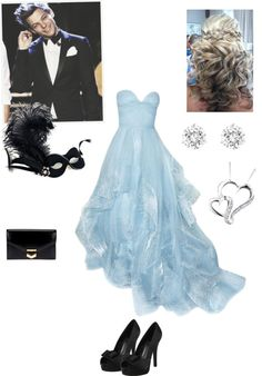 """masquerade ball w/ Louis"" by asm1298 on Polyvore"