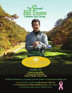 Bill Evans 5th Annual Celebrity Golf Outing