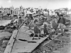 Life on Malta during this period posed some hardships, including a lack of food, the blackout and the continual threat of invasion. Children among pictured the Stuka wreckage Malta In November, December, Malta Italy, Malta History, Malta Valletta, George Cross, Malta Gozo, Malta Island, Second World