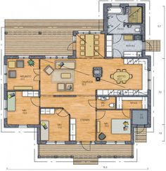 Bungalow House Plans, Diy Furniture, Sweet Home, Floor Plans, Layout, How To Plan, Room, Fields, Future