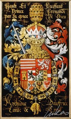 Armorial plates from the Order of the Golden Fleece | Archduke Ferdinand of Austria