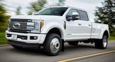 Ford выпускает долгожданное обновление F-Series Super Duty на 2017 модельный год