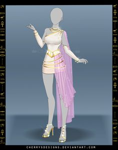 (closed) Outfit Adopt 681 - Hathor by CherrysDesigns