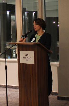 Green Economic Forum 2016 - H.E. Ms Ksenija Škrilec (Ambassador of Slovenia)