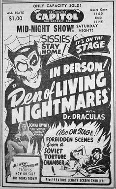 Dr. Dracula's Den of Living Nightmares