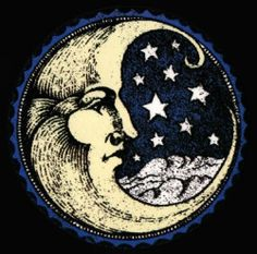 34 New Ideas Tattoo Moon Stars Moonlight La Luna Stars And Moon, You Are My Moon, Creation Art, Moon Face, Moon With Face, Beautiful Moon, Moon Child, Oeuvre D'art, Sacred Geometry