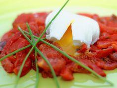 Ma Cuisine et Vous | Piperade au chorizo |  Préparation: 20 minutes     Cuisson: 30 minutes      Ingrédients  (pour 4 personnes):    3 poivr...