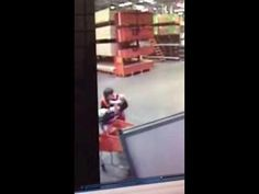 Baby Falling Off Cart Caught By Chris - #amazing #rescue