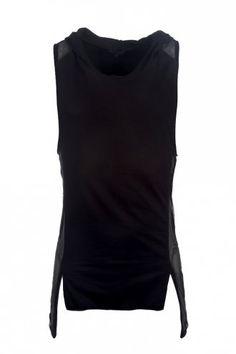 Delusion Scheme Vest Black
