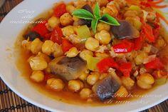 ΡΕΒΥΘΙΑ ΜΕ ΜΕΛΙΤΖΑΝΕΣ ΣΤΟΝ ΦΟΥΡΝΟ Chana Masala, Soups, Cooking, Ethnic Recipes, Food, Lab, Chowders, Meal, Koken