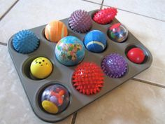 Lots of great Montessori inspired activities for a 1 year old!