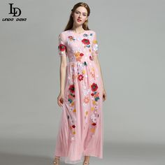 Flare Sleeve Holiday Beach Bohemian Plantain leaves Print Casual Loose Long Dress Great, huh? http://www.skaclothes.com/product/ld-linda-della-elegant-women-maxi-dress-flare-sleeve-holiday-beach-bohemian-plantain-leaves-print-casual-loose-long-dress #shop #beauty #Woman's fashion #Products